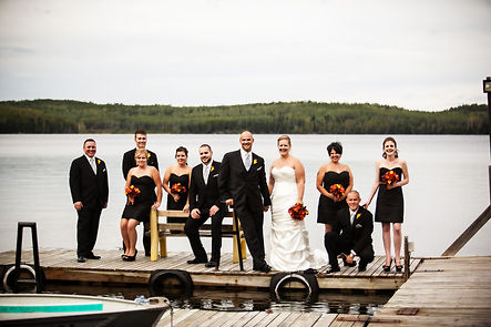 Events Wedding Gullrock Lake Lodge