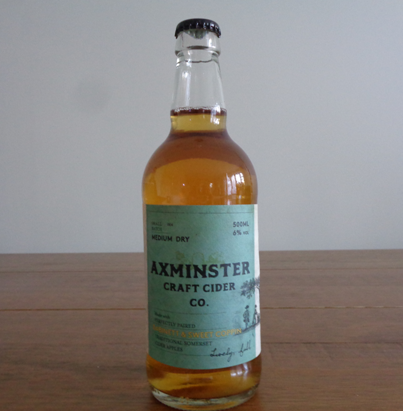 Axminster Craft Cider Co - Dabinett & Sweet Coppin