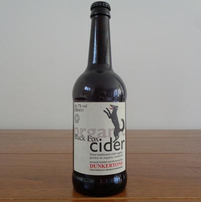 Dunkertons - Black Fox Organic Cider