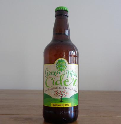 Green Man Cider - Naturally Dry