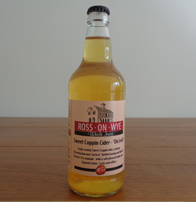 Ross on Wye - Sweet Coppin Cider 'On Leaf'