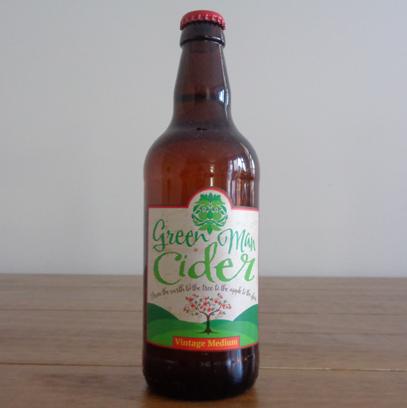 Green Man Cider - Vintage Medium
