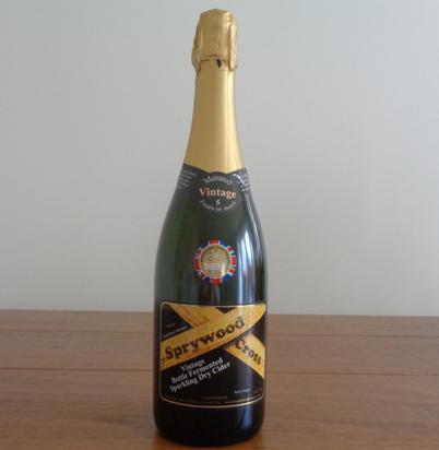 Sprywood Cross - Vintage Bottle Fermented