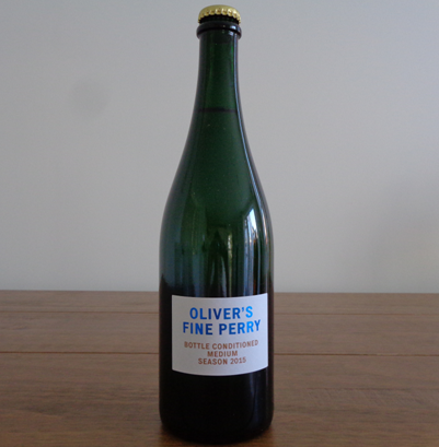 Oliver's - Bottle Conditioned Perry 2015
