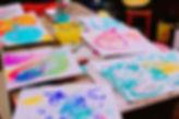 こどもとおとなが描いた絵。みんなそれぞれオンリーワン。それぞれの表現ひとつひとつ