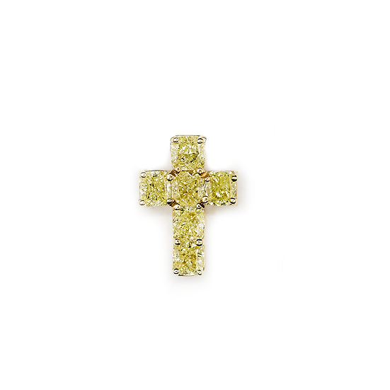 Yellow Diamond Cross