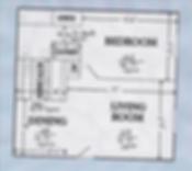 The Hamptons Condo 1 Bed 1 Bath Floor Plan