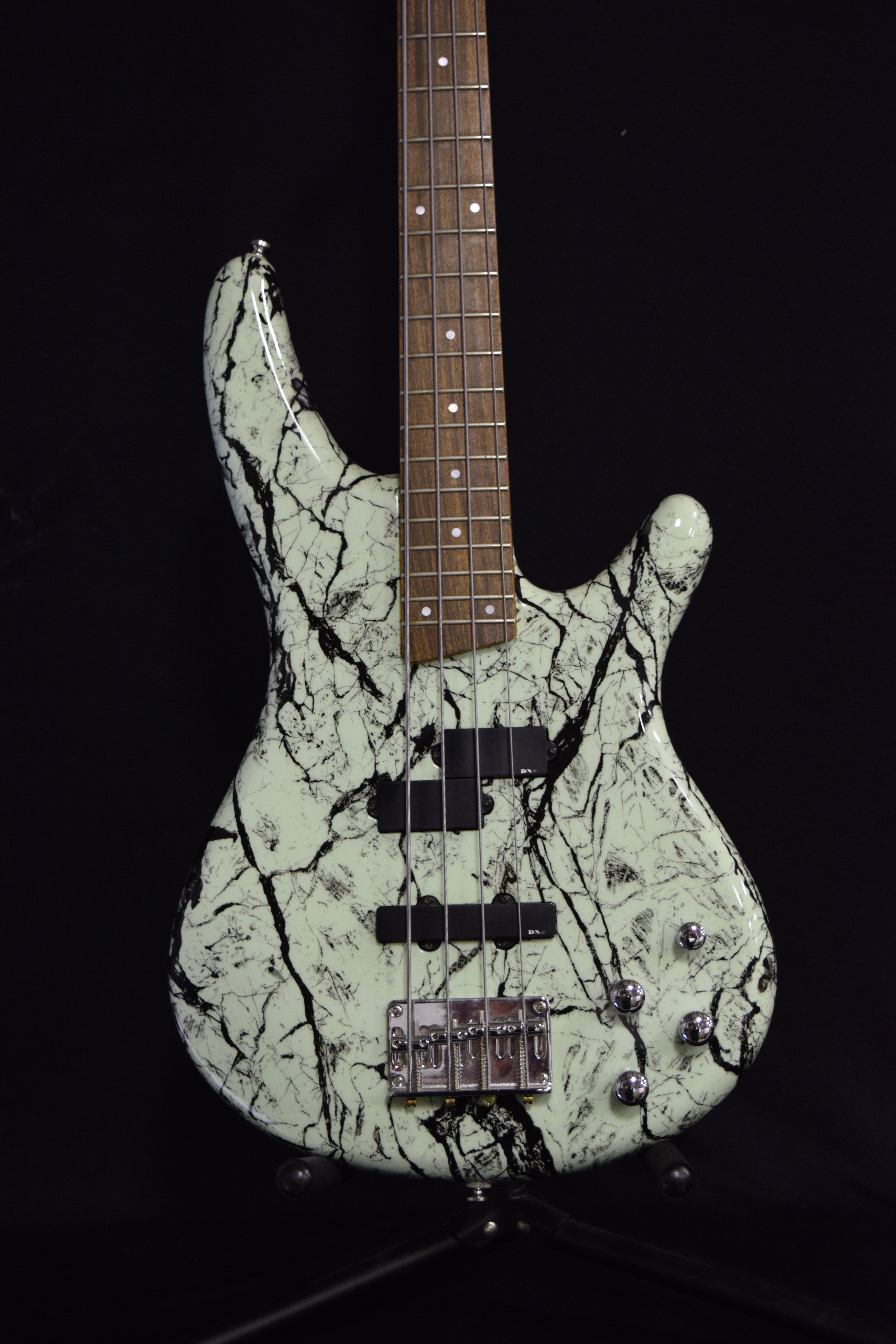 Kurt Kobain Inspired Bass Front