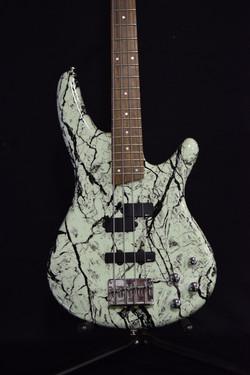 Kurt Kobain Inspired Bass Front