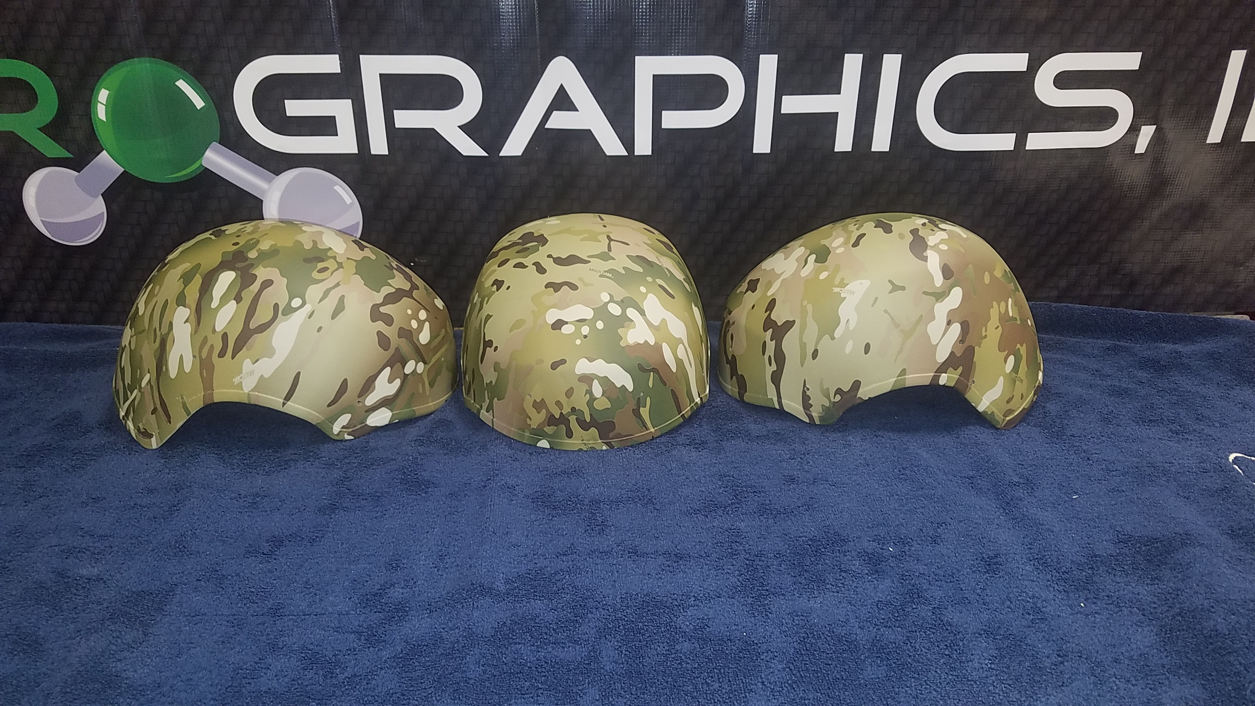 Wendy Multicam Helmets