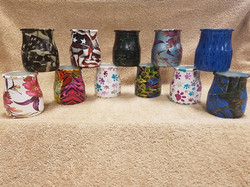 Young Living Collage Jars