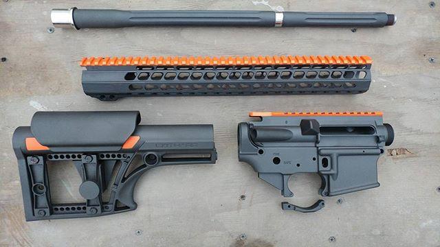 Orange Black 2 Tone Cerakote AR.jpg