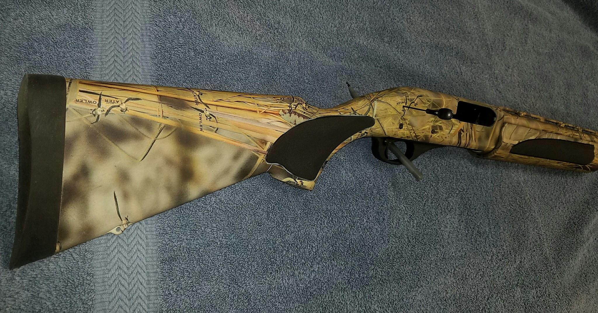 11-75 Water Fowl Camo Shotgun