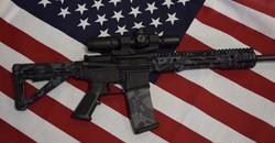 AR 15 Midnight Amercia