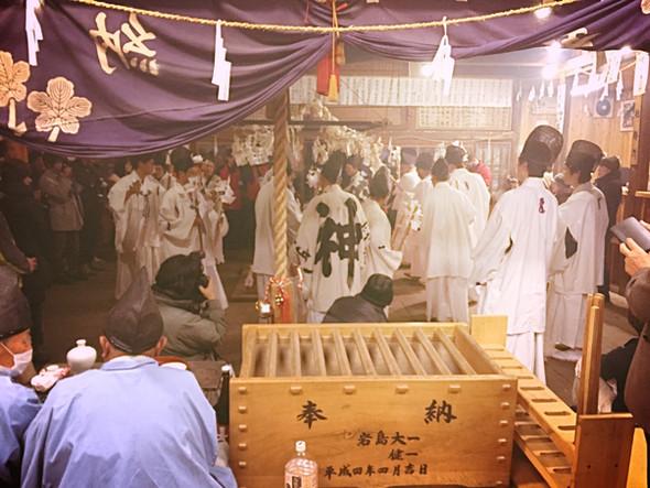 9月18日 敬老の日は、長野遠山郷「神楽の湯」