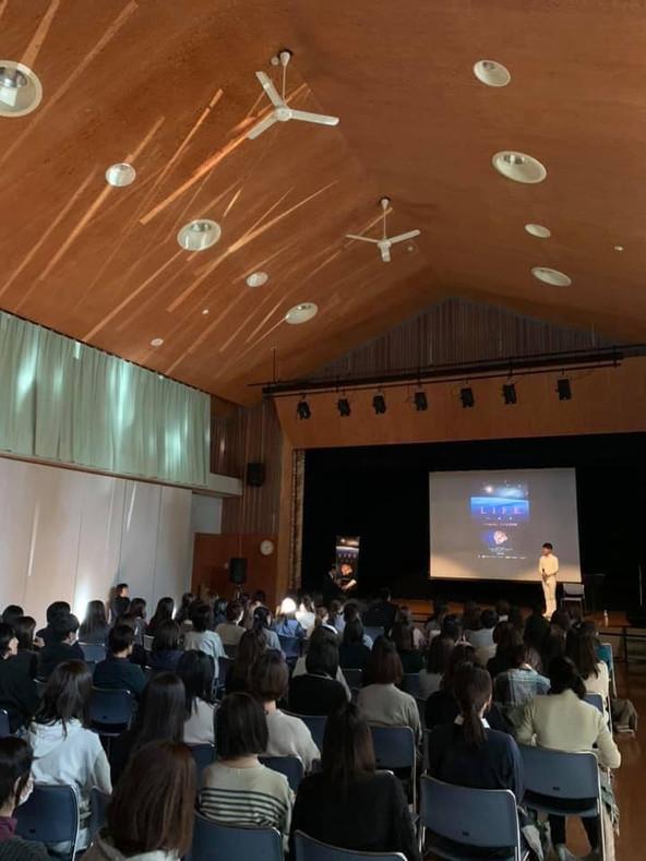 飯田市保育協会主催 講演会での「LIFEいのち」上映