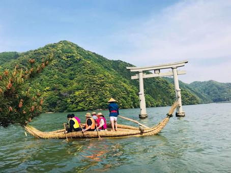 葦船まつりで、リアル星空「LIFE」体験