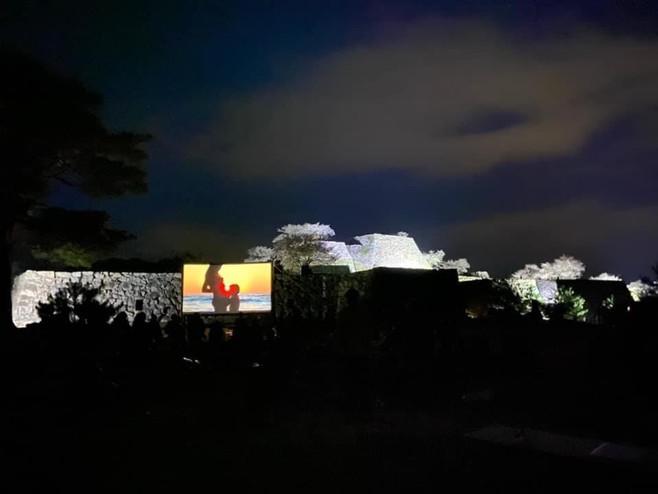 天空の城「竹田城跡」夜桜ライトアップ×LIFE ®︎いのち