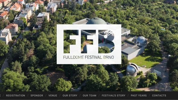 チェコのブルノで開催されるFulldome Festivalで、LIFE上映が決定!