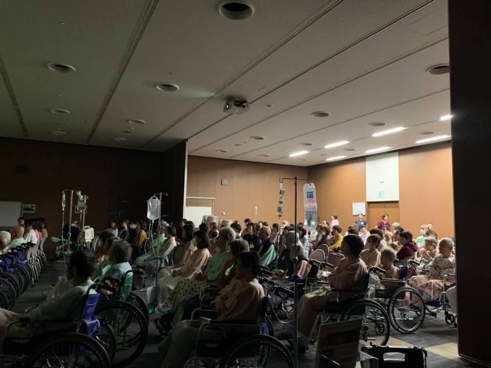 長野飯田市立病院でも心温まる上映会が開催されました。
