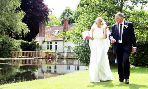 Springhead Wedding, Fontmell Magna, Dorset