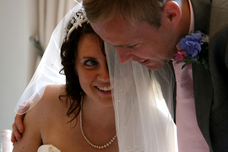 The Italian Villa Wedding, Sandbanks, Dorset.