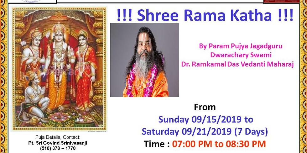 Shri Ram Katha (Newark, CA, USA)