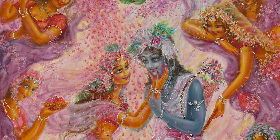 Holi Mahotsva (Vedant Ashram, Vrindavan)