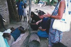 haiti praying