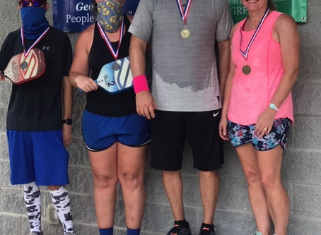 Local Pickleball Players Place at State Tournament