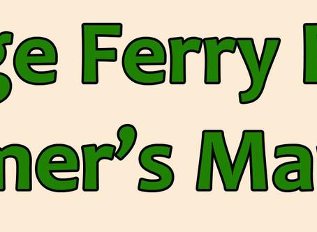 Ridge Ferry Farmer's Market Open June 6