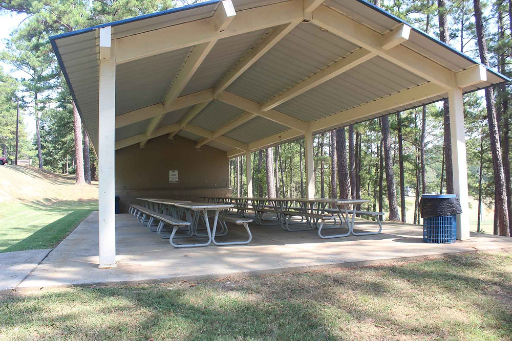 Etowah Park Pavilion available for rent in Rome, Georgia.