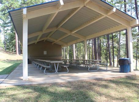 Pavilion Rentals Resume on June 6