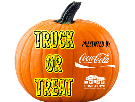 Drive Thru Truck or Treat Set for Halloween