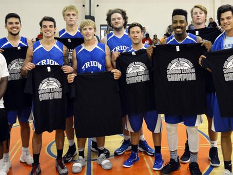 Trion Goats capture Adult Summer Basketball League title