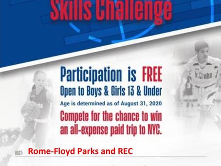 Jr. NBA Skills Challenge Set for Feb. 13