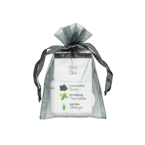 Oily Skin Sample Product Bag
