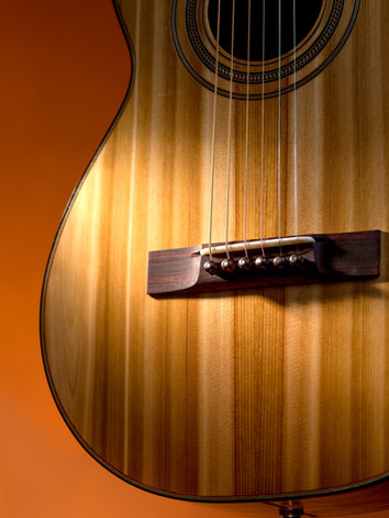 Cobble Hill parlor guitar front