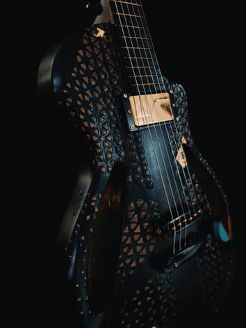 Honfleur semi hollow guitar