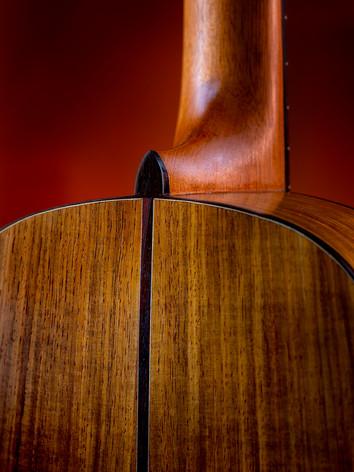 Cobble Hill parlor guitar back