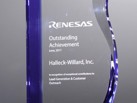 HWI Awarded Renesas 2018 Independent Design House of the Year for the third year in a row!