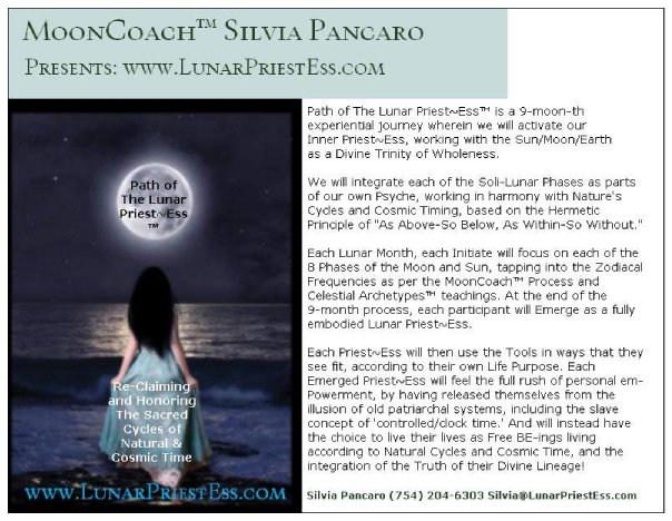 path of the lunar priestess post card ba