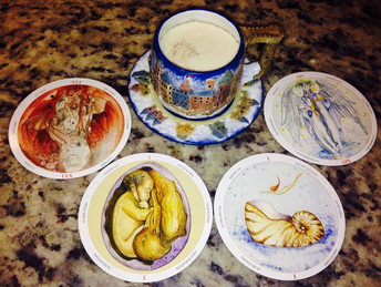 Tarot tea time by MoonCoach