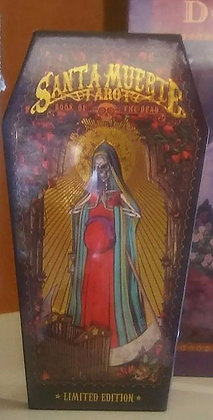 Santa Muerte Tarot, LIMITED EDITION, Coffin Kit (Numbered)