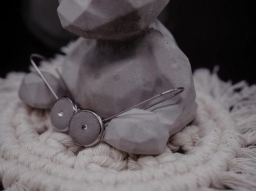 Ohrhänger  10mm mit Swarovski-Kristallen
