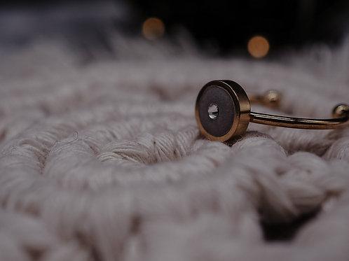 Ring inkl. Swarovski-Kristall - 6mm