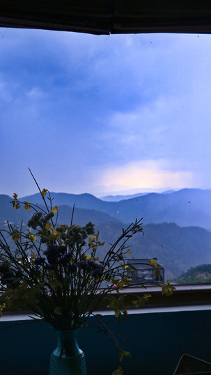 Rainwashed views- TURQUOISE