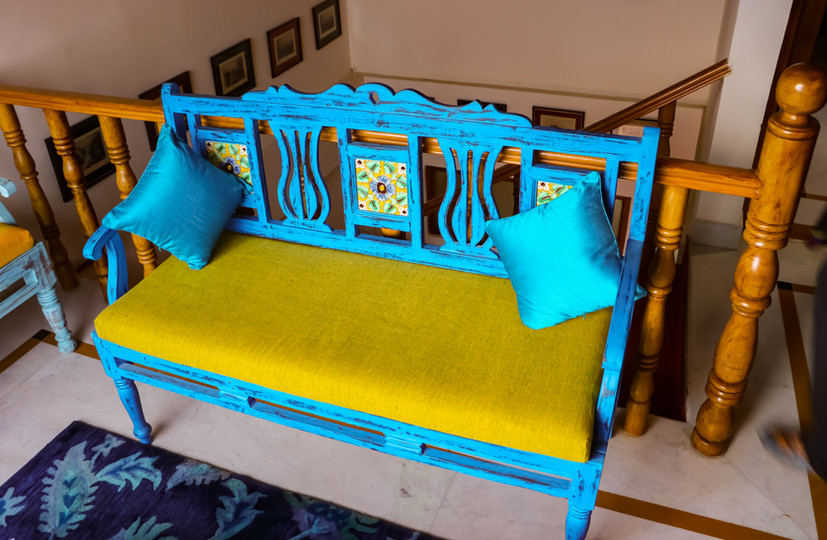 The TURQUOISE Seat