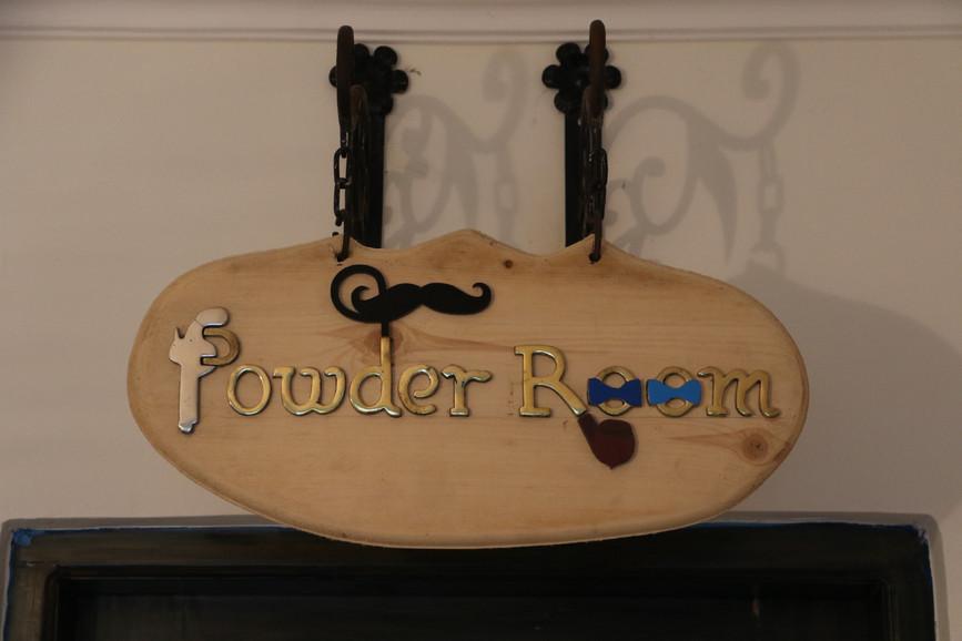 Men's Powder Room