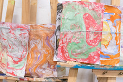 Experimenting Abstract Arts Class_201909